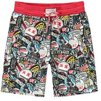 Little Marc Jacobs Sale - Graffiti Punk Fleece Board Shorts