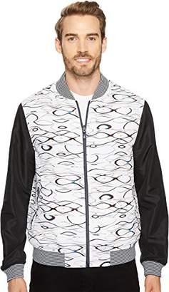 Robert Graham Men's Sharpy Woven Bomber Jacket