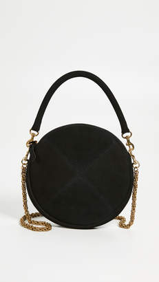 Clare Vivier Circle Clutch with Chain Strap
