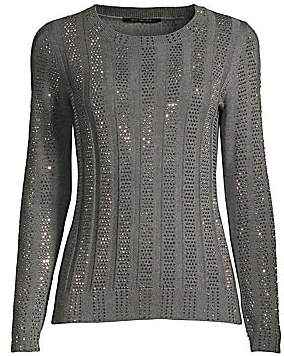 Kobi Halperin Women's Esther Embellished Merino Wool Sweater
