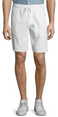 Saks Fifth Avenue Stretch Linen Shorts