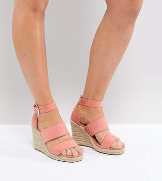 Asos Taffy Wide Fit Espadrille Wedges