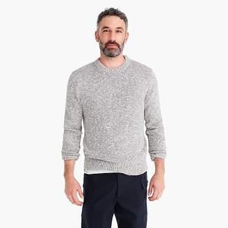 J.Crew Wallace & Barnes crewneck sweater in marled cotton