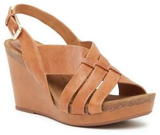 Sofft Chesny Leather Wedge Sandal