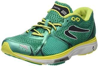 Newton Running Women s s Fate II Women s Running Shoe Training (Green Yellow) a361bc25d3e