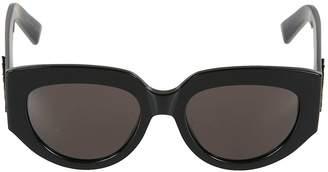 Saint Laurent Thick Framed Sunglasses