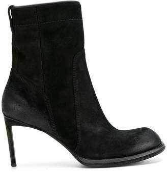 Haider Ackermann rounded toe heeled boots