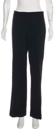 Ralph Lauren Purple Label Mid-Rise Wide-Leg Pants