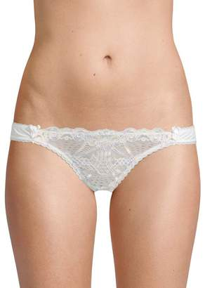 Mimi Holliday Scalloped Lace Thong
