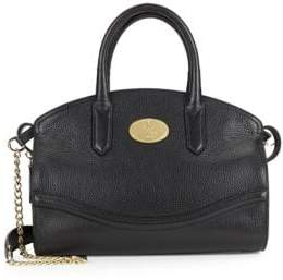 Roberto Cavalli Textured Leather Satchel