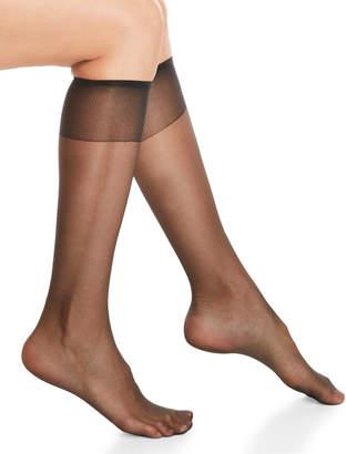 Hanes Silky Sheer Sheer Toe Knee-Highs