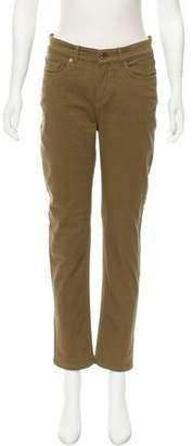 Loro Piana Mid-Rise Straight-Leg Jeans