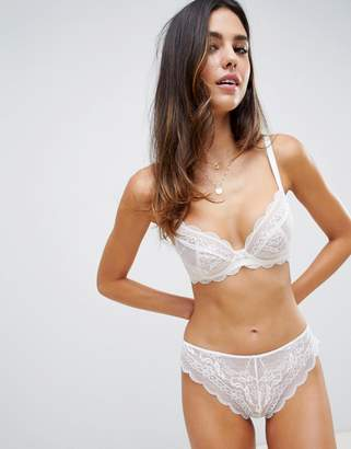 Roxy ASOS DESIGN lace undewire bra