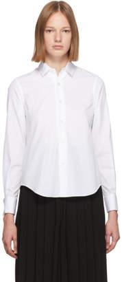 Noir Kei Ninomiya White Cotton Cufflink Shirt