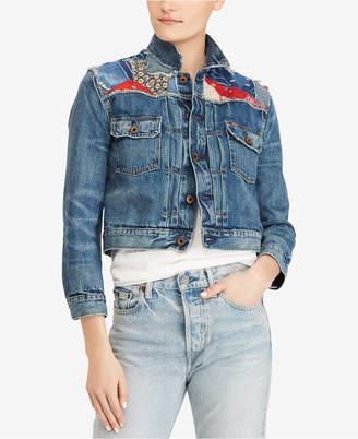 Polo Ralph Lauren Embroidered Denim Jacket