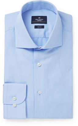 Hackett Light-Blue Mayfair Slim-Fit Cotton-Poplin Shirt