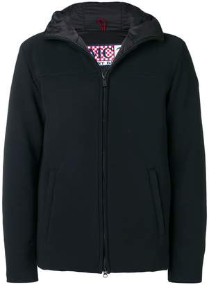 MC2 Saint Barth hooded zipped-up jacket