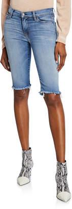Hudson Amelia Knee-Length Denim Shorts