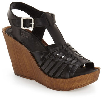 Kenneth Cole Reaction Capellini Wedge Sandal $89 thestylecure.com