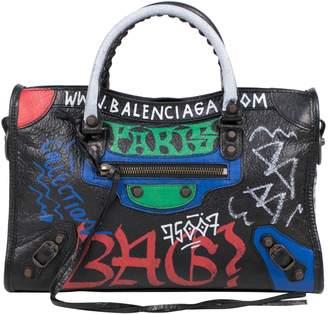 Balenciaga Classic Arena Graffiti Small Black Multicolor