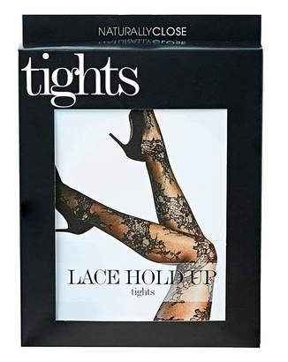 Naturally Close Lace Hold Up Tights