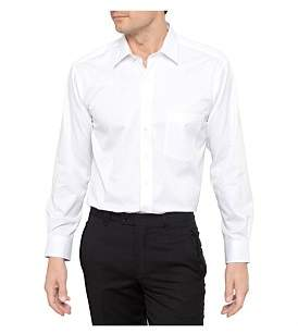 Geoffrey Beene Fine Twill Single Cuff Non Iron Shirt Regular Fit