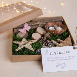 Toadstools and Tippytoes Fairy Garden Naturals Kit