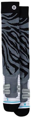 Stance Taper Black Fusion Moto Socks $25 thestylecure.com