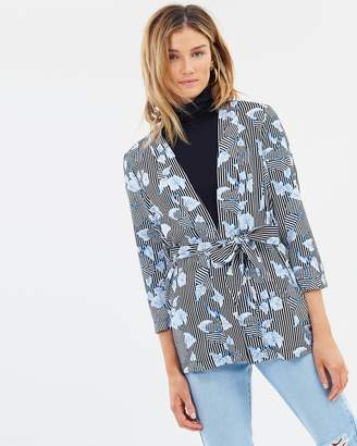 Sass Earn Your Stripes Bed Jacket