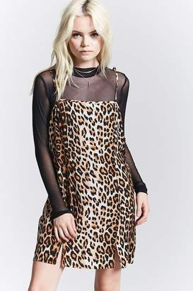 Forever 21 Leopard Print Cami Dress