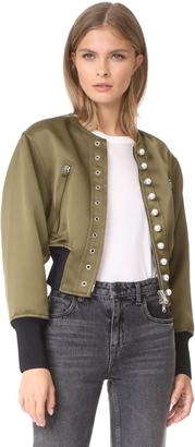 3.1 Phillip Lim Pearly Bomber $850 thestylecure.com