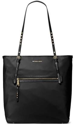 Michael Kors Leila Black Large Shopping Bag
