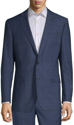 Brooks Brothers Wool-Blend Check Suit Jacket
