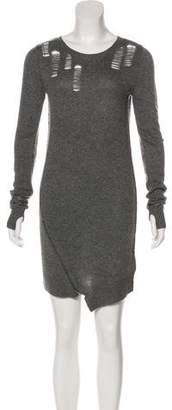 Pam & Gela Wool-Blend Sweater Dress