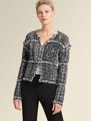 DKNY Textured Cardigan