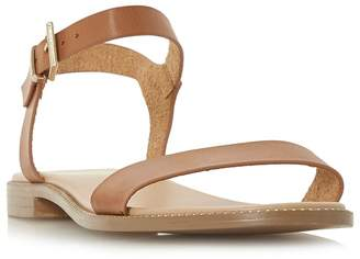 Head Over Heels by Dune - Tan 'Natallia' Ankle Strap Sandals