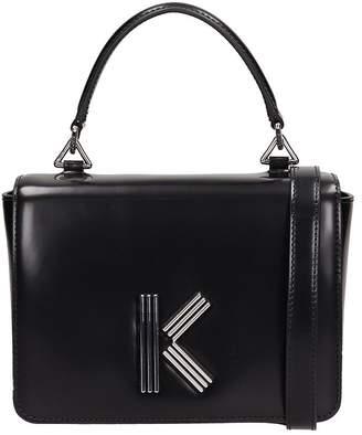 Kenzo Black Leather K-mini Bag