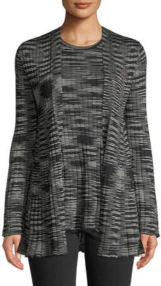 M Missoni Space-Dyed Ribbed Cardigan