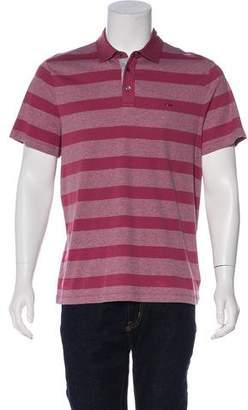 Michael Kors Striped Pattern Polo Shirt