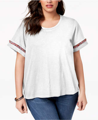 Style&Co. Style & Co Plus Size Step-Hem Top, Created for Macy's