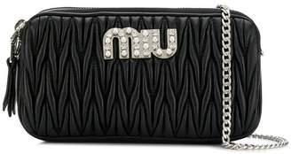 Miu Miu quilted mini bag