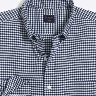 J.Crew Mercantile Flex oxford shirt in gingham