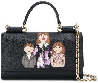 Dolce & Gabbana mini Von wallet crossbody bag