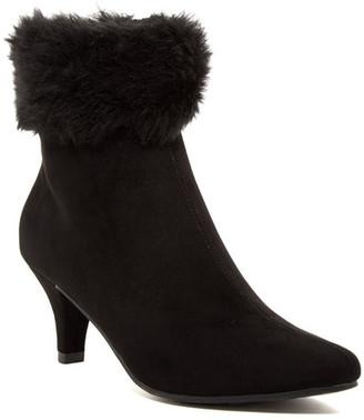Impo Nina Faux Fur Trimmed Bootie $74 thestylecure.com