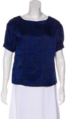 IRO Silk Short Sleeve Top