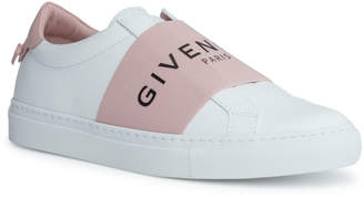 Givenchy Urban street white and pink logo sneakers