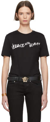Versace Black With Love T-Shirt