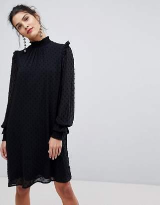 Y.A.S Chiffon High Neck Dress