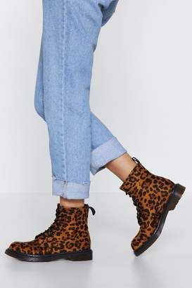 Nasty Gal Hunt You Down Leopard Boot