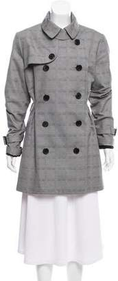Christian Dior Double-Breasted Structured Jacket